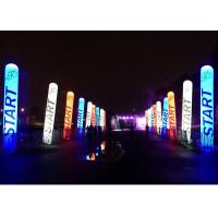 China Customized Inflatable Column , Inflatable Led Tube For Event Advertising on sale