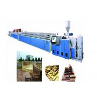 Quality Power Saving WPC / PVC Profile Plastic Extrusion Equipment For Wood Profile wholesale