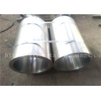 Quality Forged Pipe metal sleeves S235JRG2 1.0038 EN10250-2:1999 for Steam Turbine Guider Ring wholesale