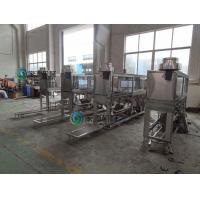 Automatic 5 Gallon Water Bottle Filling Machine , Aseptic Liquid Filling Equipment