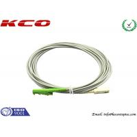 Quality Rodent-resistant E2000 to SC simplex armored fiber optic patch cables armoured cord jumper wholesale