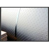 Quality Hot rolled Mild Steel Diamond Plate Sheet A36 for Non Slip Stair Treads / Checker Plate Flooring wholesale