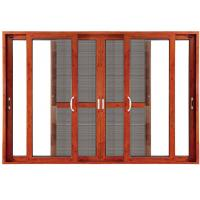 Quality Double Clear Indoor Sliding Glass Doors Blinds Anodized Aluminium wholesale