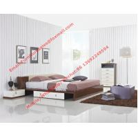 Quality Italy modern design bedroom furniture by storage and leather headboard wholesale