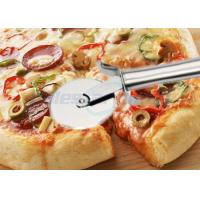 Quality Round Pastry Stainless Steel Pizza Cutting Knife Multi Functional Heavy Duty wholesale