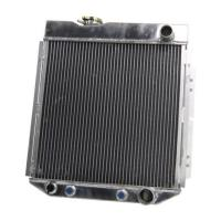 Quality 4 Row Core Aluminum Car Radiators For 1964 1965 1966 Ford Mustang V8 260 289 Auto / Manual wholesale