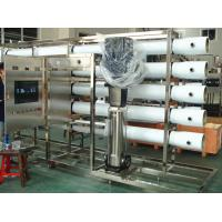 Quality PET Glass Bottle RO Water Treatment Systems in Stainless Steel , Water Treatment Filter wholesale
