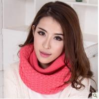 Autumn winter with thick scarf