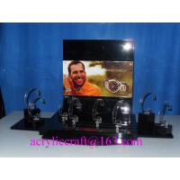 Quality Counter top acrylic watch display rack, PMMA watch holder, plexiglass watch display stand wholesale
