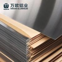 Quality EN AW 1050A H14 H24 Aluminium Sheet With Paper Interleaved For Construction wholesale