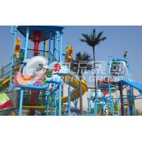 China 304 Stainless Steel Giant Aqua Playground Hot Dip Galvanized Water House for Aqua Park on sale