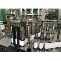 China Small Capacity Hot Melt Opp Labeling Machine , Automatic Bottle Labeler 5000BPH on sale