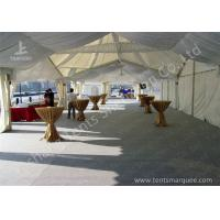 Quality High Peak Lining Style Aluminum Frame Water Resistant Tent Structure For Wedding Receptions wholesale