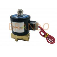 "Quality Threaded Ports 2 Way 2 Position Solenoid Valve 2W-040-10 3/8"" Inch Direct Acting wholesale"