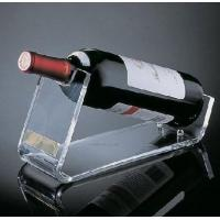 Quality Restaurant Acrylic Wine Holder / Racks With Beautiful Shape wholesale