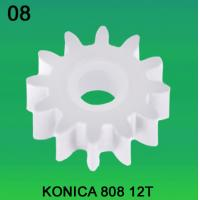 Quality KONICA GEAR 12 TEETH FOR 808 MODEL minilab wholesale