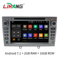 Quality MP3 MP4 USB SD Rear Camera Peugeot 308 Dvd Player Built - In Radio Tuner wholesale