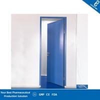 China Double Sealing Purified Operating Room Doors GMP Standard Sandwich Panel Door on sale