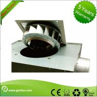 Quality 125mm Thin Durable Silent Inline Fan / Square Inline Centrifugal Duct Fan wholesale