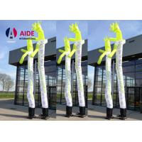 Cheap White Inflatable Arm Man Long Hair Inflatable Waving Man Advertisement for sale
