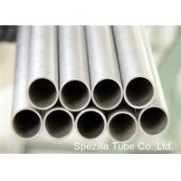 Quality Condenser Thin Wall Pipe Welded Titanium Round Tube For Medical Industry wholesale