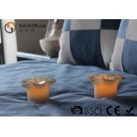 Quality Flower Shape Safety Real Wax LED Candles For Home Decoration RW-127 wholesale