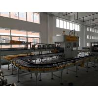 China Twin Chain Wheel Bottle Case Packer Machines , Fast Speed Case Erector And Packer on sale