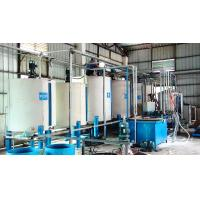 China Horizontal Continuous Low Pressure Foam Machine For Soft Urethane Foam Rubber on sale