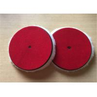 Quality OEM Lambswool Buffing Pad , 6 Inch Foam Polishing Pads For Vehicle Paint wholesale
