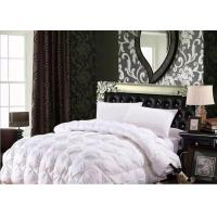 Quality 100% Cotton Luxury Duck Down Quilt / Duck Feather And Down Duvet Alternative Washed wholesale