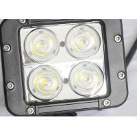 Quality 40W Offroad LED Work Lights , Beacon 4WD UTE SUV Jeep Driving Lights wholesale