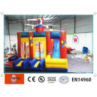 Quality Colorful High Density Inflatable Dry Slides / Inflatable Slide For Commercial Advertising wholesale