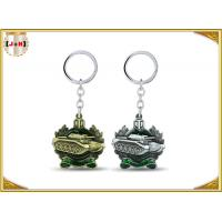 Quality Die Casting 3D Brass Vintage Metal Key Ring Pear Finishing For Promotion With Laser Logo wholesale