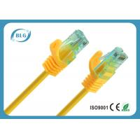 Low Loss Rj45 Cat6 Patch Cable , Colorful CCA Category 6 Patch Cord 3M
