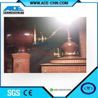 Quality Vodka Distillery Equipment For Sale & Red Copper Small Size Whiskey Distilling Equipment wholesale