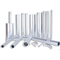 Quality 6082 Aluminum Rectangular Tubing , Industrial Moulding Thick Wall Aluminum Tubing wholesale