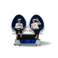 Quality Infinity 720 Rotation 9D Egg VR Cinema / VR Roller Coaster Games Movies 2 Seats Virtual Reality Equipment wholesale