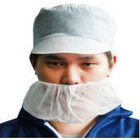 Cheap surgical/hotel/beauty surgical Non-woven face mask beard cover for sale
