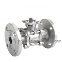Quality 3pc Flange Ball Valve(High Mounting Pad) wholesale