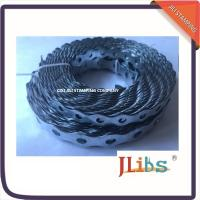 Quality Metal Fixing Band Galvanized Steel Banding Rounded Hanging Ductwork 12mm-26mm Size wholesale