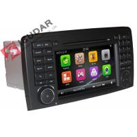Quality 800 * 480 Resolution Mercedes Cls Dvd Player , All In One Car Stereo Gps Build In RDS wholesale