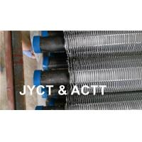 Quality Aluminium / Steel Extruded Fin Tube For Air Cooler SA179 SMLS OD25.4 X THK2.77MW X 9144L wholesale