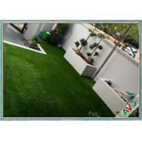 Quality SGS Landscaping Artificial Grass Carpet Roll With Monofil PE / Curly PPE Material wholesale