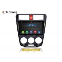 Quality Honda CITY 2009 Android Car Stero Comparing to Quad-core System 10 Seconds Faster wholesale