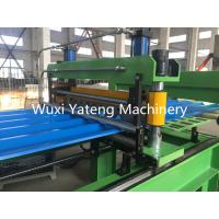 Quality High Speed Roofing Sheet Roll Forming Machine With Chroming Treatment Rollers 18 Stations wholesale