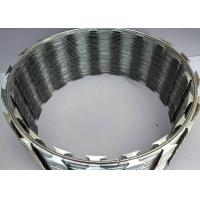 Quality Poland 900mm coil Thermal BTO-22 Concertina Razor Barbed Wire wholesale