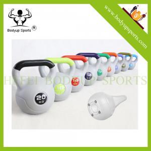 Quality Cement Kettlebells/ Plastic Adjustable Sand Kettlebell wholesale