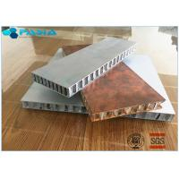 Buy cheap Light Weight High Strength Long Duration Aluminum Honeycomb Panel With Customized Size from wholesalers