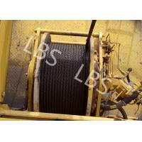 Quality High Strength Steel Lebus Groove Drum Winch Machine For Tower Crane wholesale