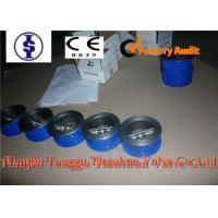 China API casting Wafer Dual Plate Check Valves , Manual Water CI / DI / WCB Butterfly Check Valve on sale
